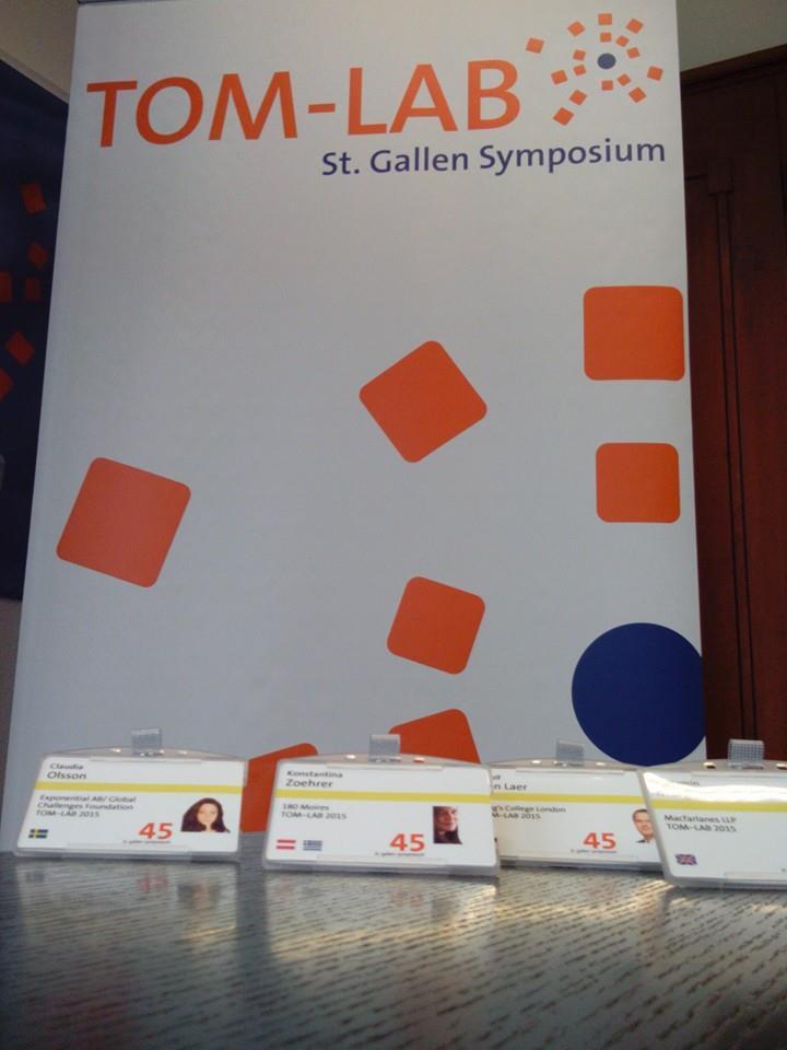 Credits. St. Gallen Symposium
